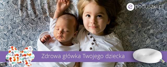 poduszki dla niemowląt na płaską główkę - e-poduszki.pl