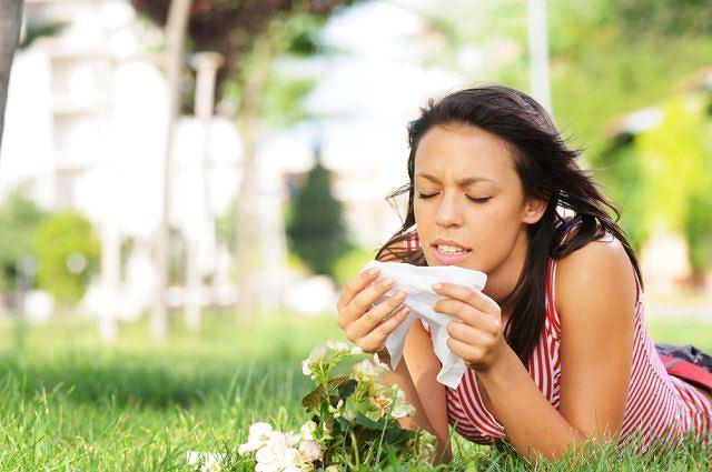alergie na wiosnę
