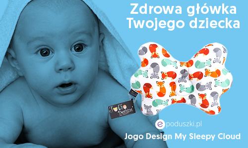 JOGO DESIGNS MY SLEEPY CLOUD specjalistyczna poduszka dla niemowląt