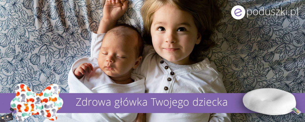 Poduszki dla niemowląt na płaską główkę
